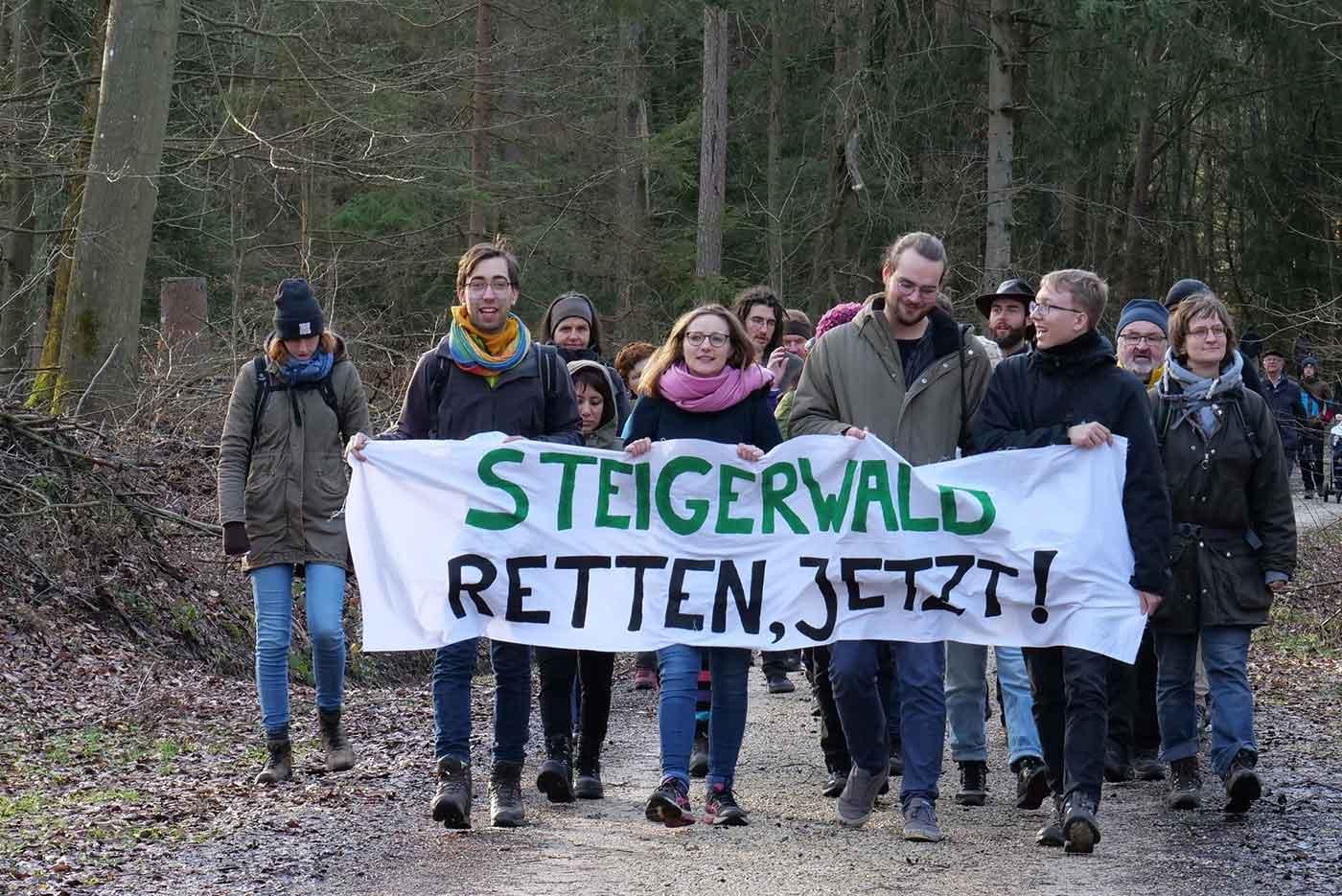 Jetzt Steigerwald retten mit MdB Lisa Badum und GJ-Bezirkssprecher Luca Rosenheimer
