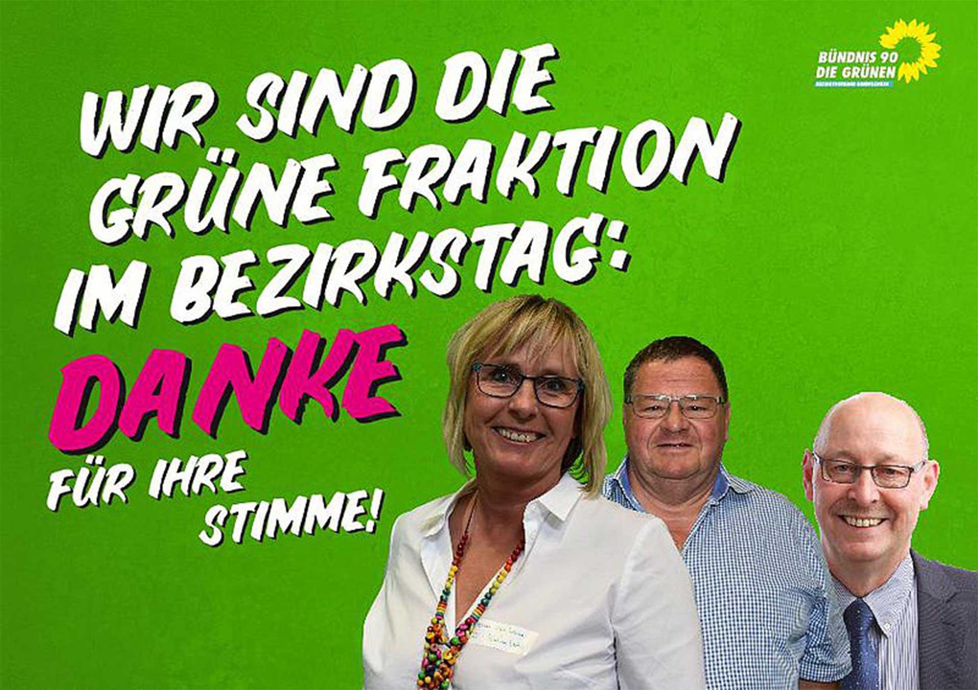 Oberfränkische Grüne verdreifachen ihre Sitze im Bezirkstag
